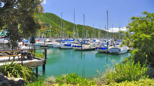 Activities And Attractions Found Near The Villa Backpackers Lodge In Picton Marlborough NZ